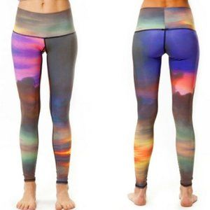 Teeki sunset leggings Medium A3